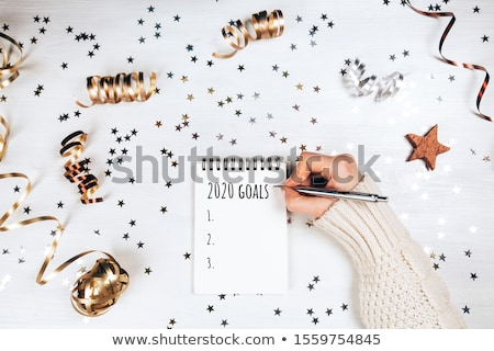 Blank Year 2020 Goals To Do List Concept Stock photo © ivelin
