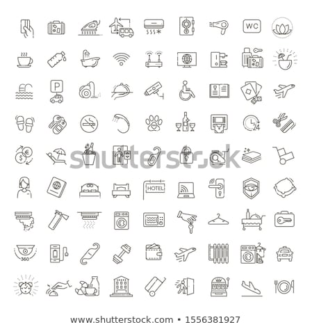 Hostel services concept vector illustration Stock photo © RAStudio
