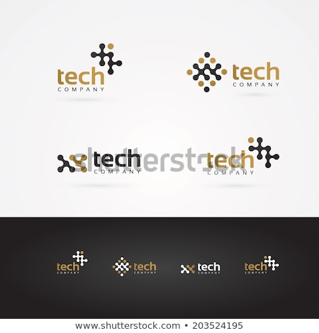 Electronics Logo Template Stock photo © barsrsind