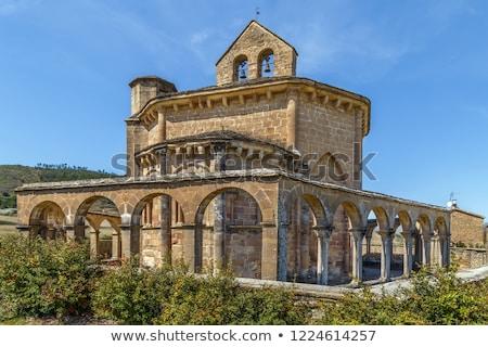 Igreja Espanha km sudeste maneira Foto stock © borisb17