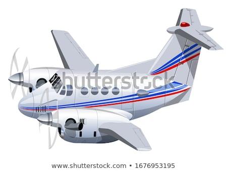 Cartoon utilitaire avion vecteur eps10 format Photo stock © mechanik