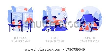 Educational summertime activities for children abstract metaphor Stock photo © RAStudio