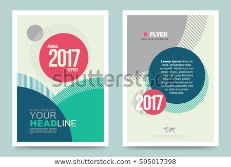 Vecteur design titre page peuvent couvrir Photo stock © designleo