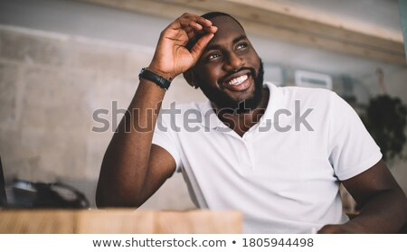 handsome african american college student stock photo © lisafx