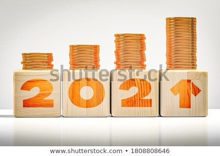 3d text cubes budget Stock photo © nasirkhan