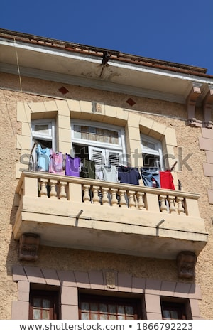 洗濯 ハバナ キューバ 壁 通り ストックフォト © Hofmeester