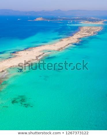 Plage île Espagne ciel mer océan Photo stock © arocas