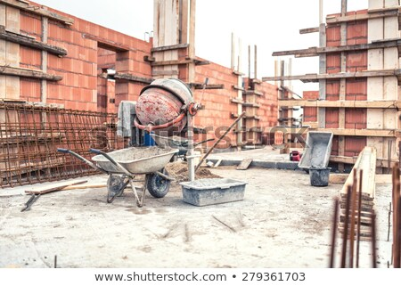 Stonemason constructing a wall Stock photo © photography33