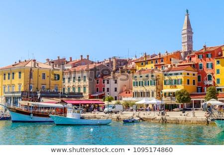 Croácia · ver · cidade · negócio · céu · edifício - foto stock © frank11