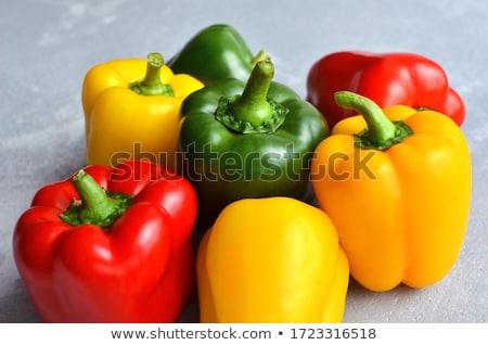 Color bellpeppers stock photo © vaximilian