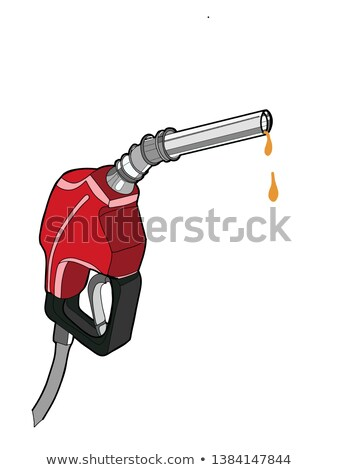 sketch   a dripping gas pump nozzle 