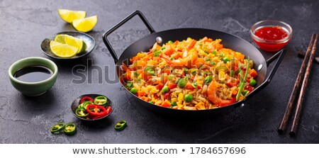 Rice pan Stock photo © joker