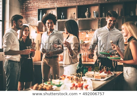 Dinner party Stock photo © photography33