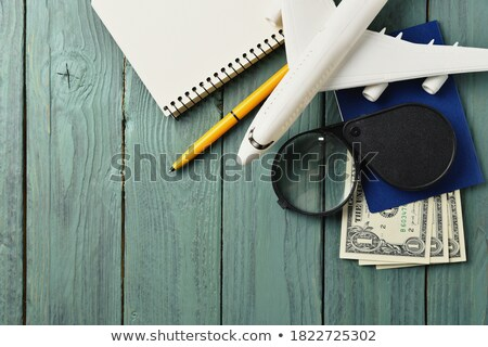 pen nad notebook stock photo © courtyardpix