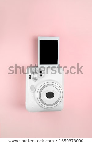 Eski analog film kamera beyaz Stok fotoğraf © vankad