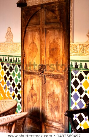 Moroccan doorway  Stock photo © danielgilbey
