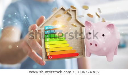 Holding an energy consumption label Stock photo © photography33