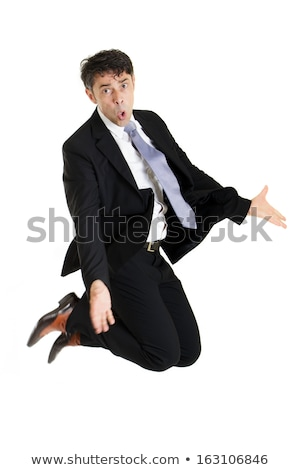 Workers knees with arms outstretched Stock photo © photography33