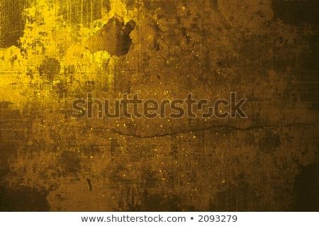 Dramat złota grunge ściany dramatyczny Zdjęcia stock © ilolab
