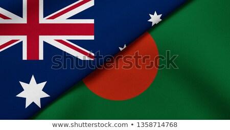 Austrália Bangladesh mundo australiano bandeira Foto stock © ruskpp