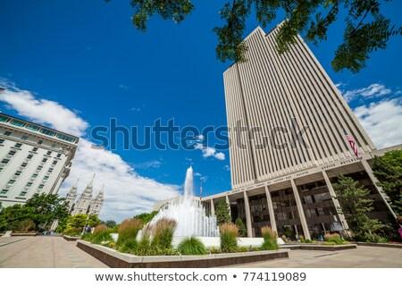 iglesia · Utah · edificio · calle · desierto · culto - foto stock © andreykr