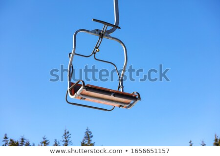 Chairlift in a Ski Resort Stock photo © tepic