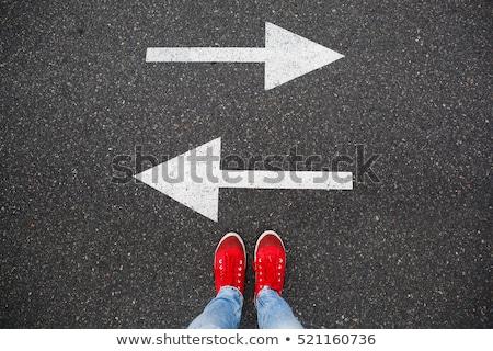 student deciding future Stock photo © godfer