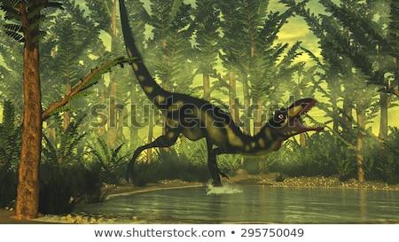dinossauro · pequeno · China · baixar · 3d · render · 3D - foto stock © AlienCat