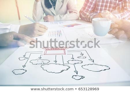 3d · pessoas · rede · social · negócio · internet · homem - foto stock © Quka