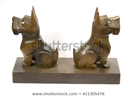 Dog Bookends Stock photo © cteconsulting
