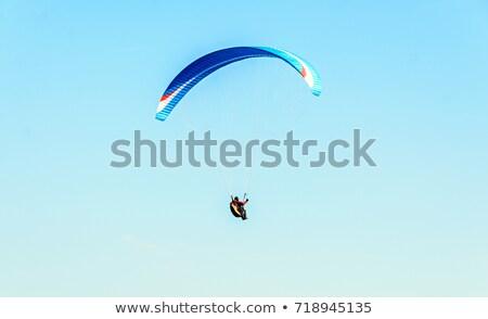 with parachute above sea Stock photo © Paha_L