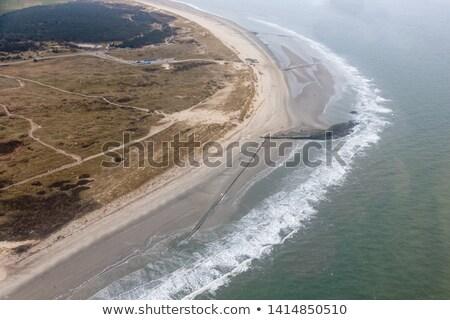 Alacsony árapály tengerpart víz természet tájkép Stock fotó © michaklootwijk