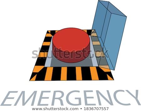 emergency button Stock photo © ssuaphoto