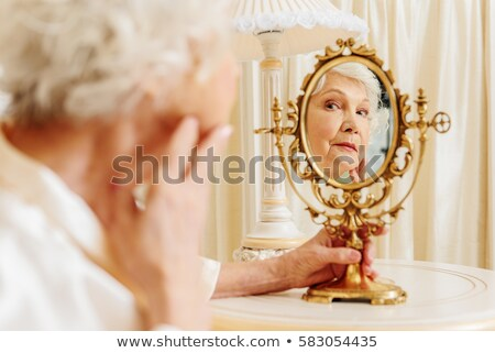 Beautiful chic senior woman Stock photo © ozgur