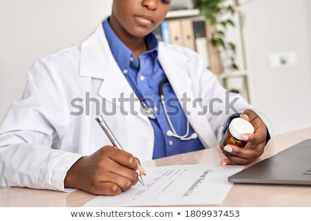 Medical Prescription Guide Stock photo © Lightsource