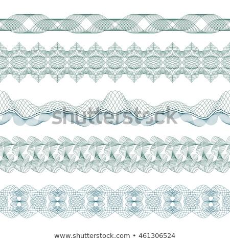 vector · patrón · moneda · certificado · establecer · textura - foto stock © beaubelle