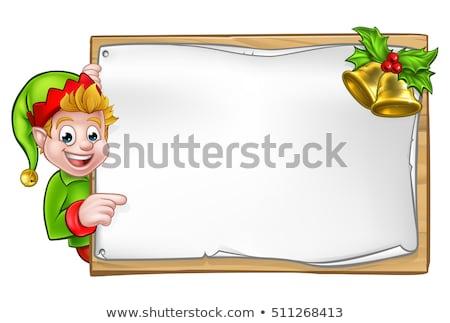 Pointant vecteur doigt sourire groupe Photo stock © carbouval