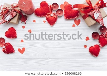 San · Valentín · corazón · patrón · amor - foto stock © smeagorl