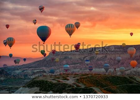 Voorjaar berg landschap Turkije oude ruines Stockfoto © Mikko