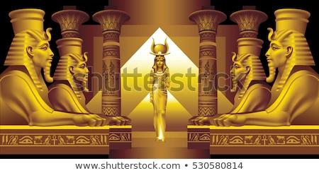 Egyptian Background Stock photo © MasaMima