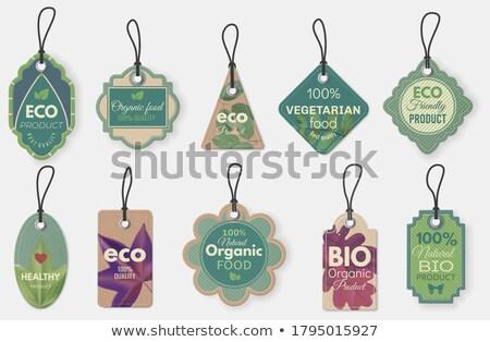 vector set of tags stock photo © nickylarson974