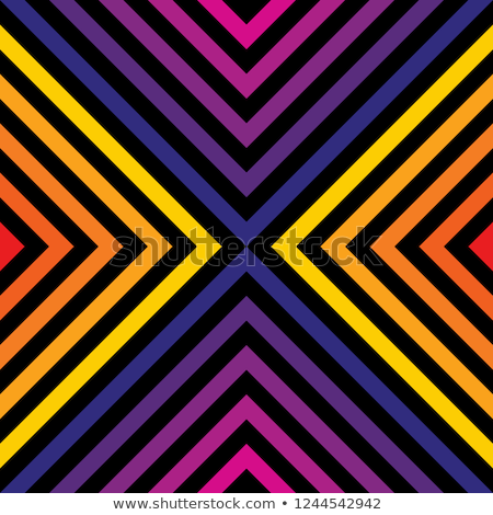 Concentrico Rainbow abstract frame modello diamante Foto d'archivio © marinini