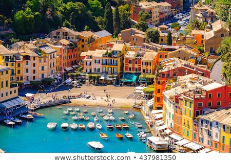 panorama · famoso · pequeño · pueblo · mediterráneo · mar - foto stock © Antonio-S