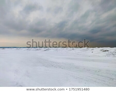 Neve coperto costa Toronto ontario Canada Foto d'archivio © bmonteny