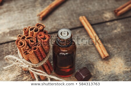cinnamon oil stock photo © yelenayemchuk