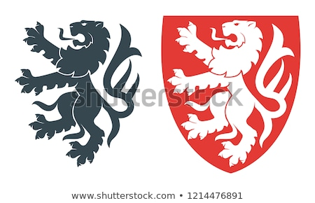 heraldry lion stock photo © oblachko