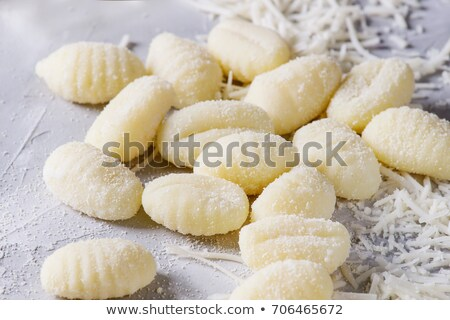 taze · İtalyan · patates · ahşap · rustik - stok fotoğraf © keko64