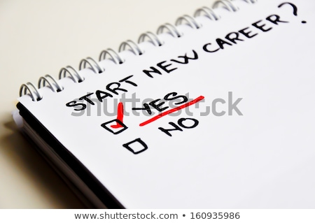Choose a Career, Not a Job Stock photo © 3mc