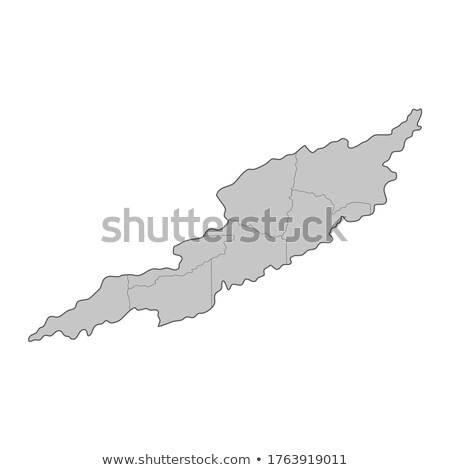 map of anguilla with with dot pattern stock photo © istanbul2009