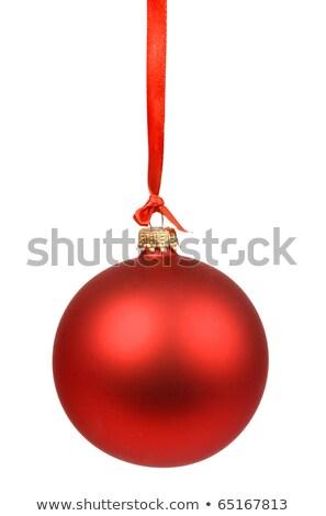 Rosso 2011 Natale numeri Foto d'archivio © Captainzz
